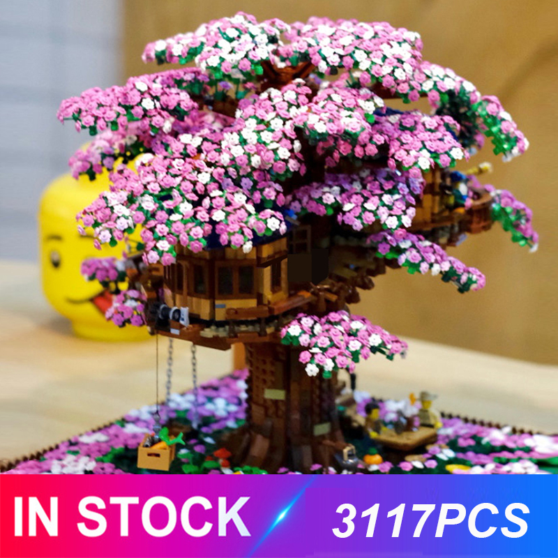 New Tree House 3117pcs Compatible Idea Series 21318 Building Blocks Bricks Educational Toys Birthdays Christmas Gifts