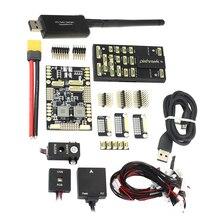 Pixhawk 4 PX4 טיסה שליטה M8N GPS מודול & PM כוח ניהול לוח PPM I2C RGB 433 Mhz/915 mhz 100mW טלמטריה קומבו קיט