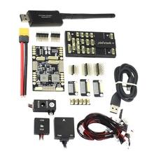 Pixhawk 4 PX4 M8N MÓDULO GPS de Controle de Vôo & PM Placa de Gerenciamento de Energia PPM I2C RGB 433 Mhz/915 mhz 100mW Telemetry kit Combo