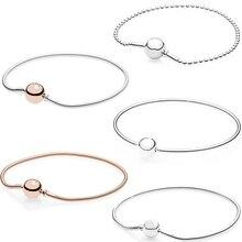 Kakany bricolage bijoux pour femmes 100% haute qualité classique Logo Bracelet rond mode féminine accessoires romantiques cadeaux danniversaire
