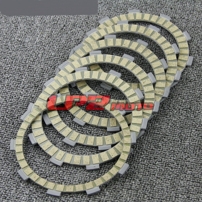 Clutch Friction Plate Discs For Yamaha TT225 86-87/99 TTR225 99-04 TTR230 05-14 XT225 Serow 92-00 Long Life Low Wear Soft Switch