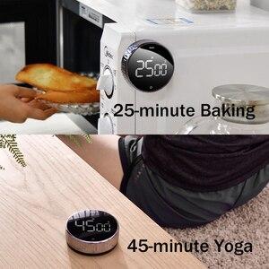 Image 5 - СВЕТОДИОДНЫЙ цифровой кухонный таймер Baseus для приготовления пищи, для душа, для учебы, секундомер, будильник, магнитный электронный таймер для приготовления пищи, таймер обратного отсчета времени