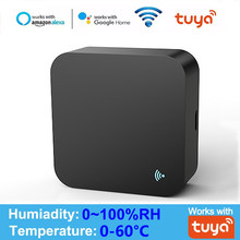 WIFI IR Remote Control Temperature & Humidity Sensor Tuya APP Voice Control Infrared IR Smart Home Automation Alexa Google Home