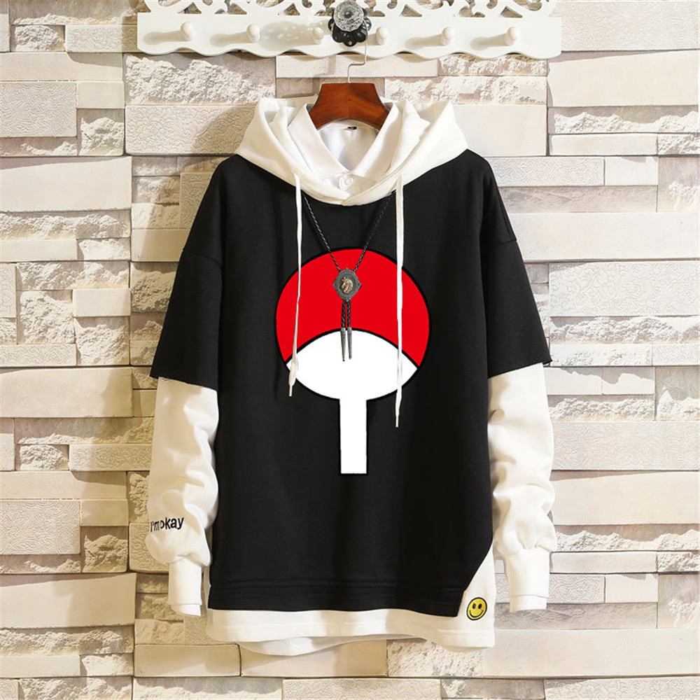 2020 Naruto Kakashi Anime Sweatshirts Cosplay Costume Hoodies 3D Classic Men Women Hoodie Naruto Clothing Fake Hip Hop Two Piece