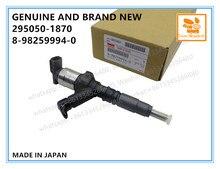 Oryginalne i zupełnie nowe wtryskiwacz paliwa COMMON RAIL 295050 1870,8982599940 dla silnika ISUZU NLR NMR 4JH1