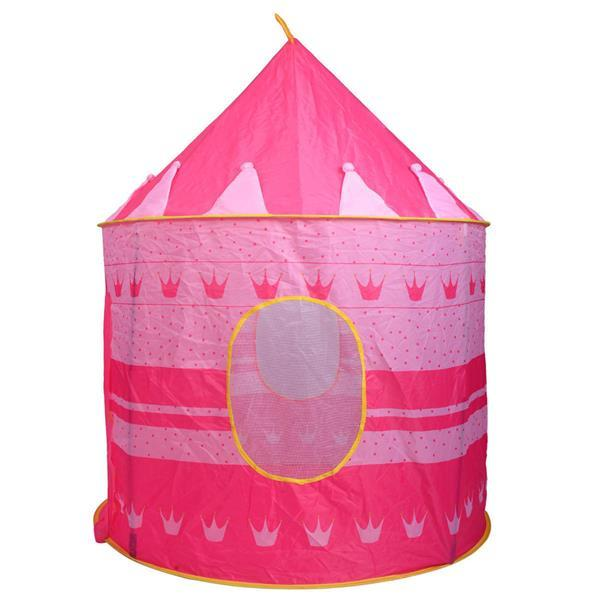 2 Colors Play Tent Portable Foldable Tipi Prince Folding Tent Children Boy Kids Gifts Outdoor Toy Tents 1