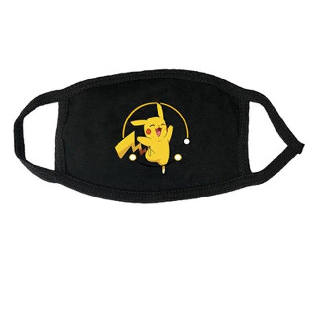 Mascarillas de algodón con diseños de Pikachu y pokémon GO Merchandising de Pokémon Mascarillas de Anime
