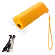 Pet Ultrasound Dog Training Repeller Control Trainer Device Anti-barking Stop Bark Deterrents Dogs 3 in 1