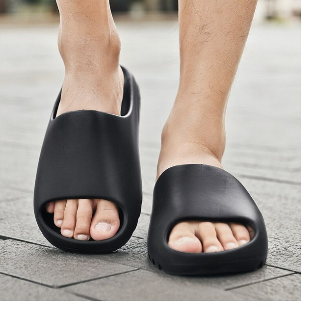 2021 New Men's Slippers Indoor Home Summer Beach Ourdoor Slides Ladies Slipers Platform Mules Shoes Woman Flats Zapatos De Mujer 2