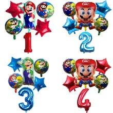 6 шт воздушные шары