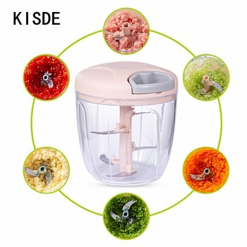 500/900ml Manual Food Chopper Multi-function Vegetable And Fruit cutter Meat Grinder Manual Meat Grinder Chopper meat grinder home manual meat grinder multi function hand shake meat grinder sausage grinder ok