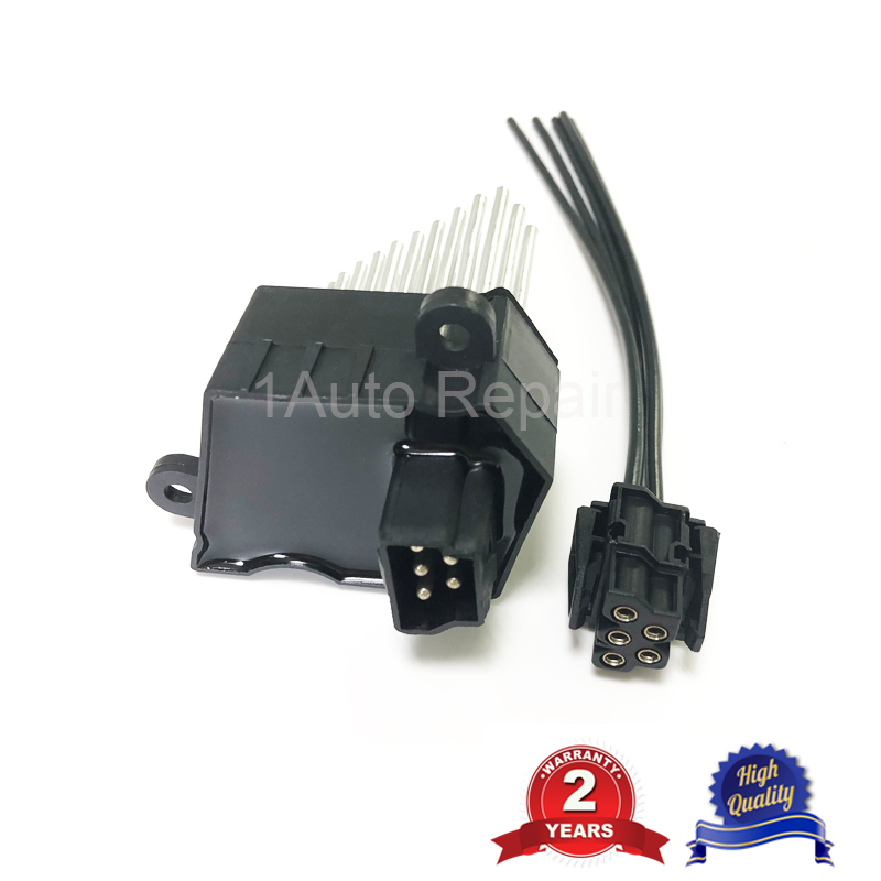 64116923204 For BMW E36 E46 E39 E83 E53 M3 Heater Blower Fan Resistor Motor A//C