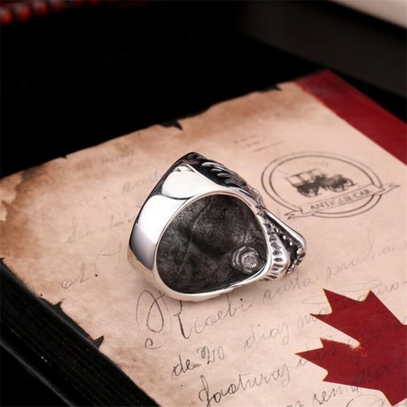 Cool Wolf Head Style Rings