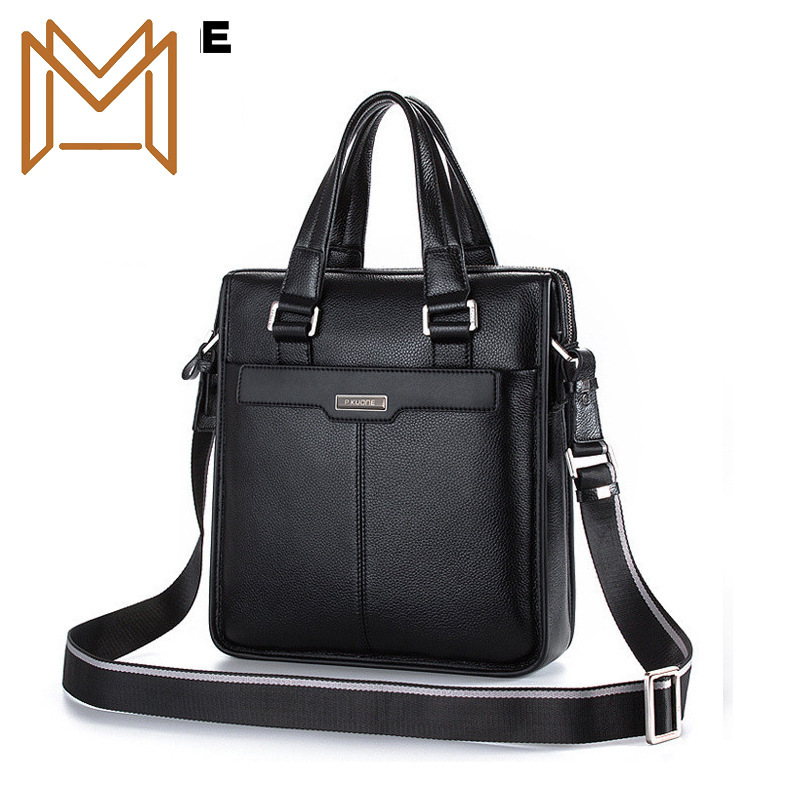 Genuine Leather Male Package Business Affairs Single Shoulder Package Male Oblique Satchel Head Layer Cowhide