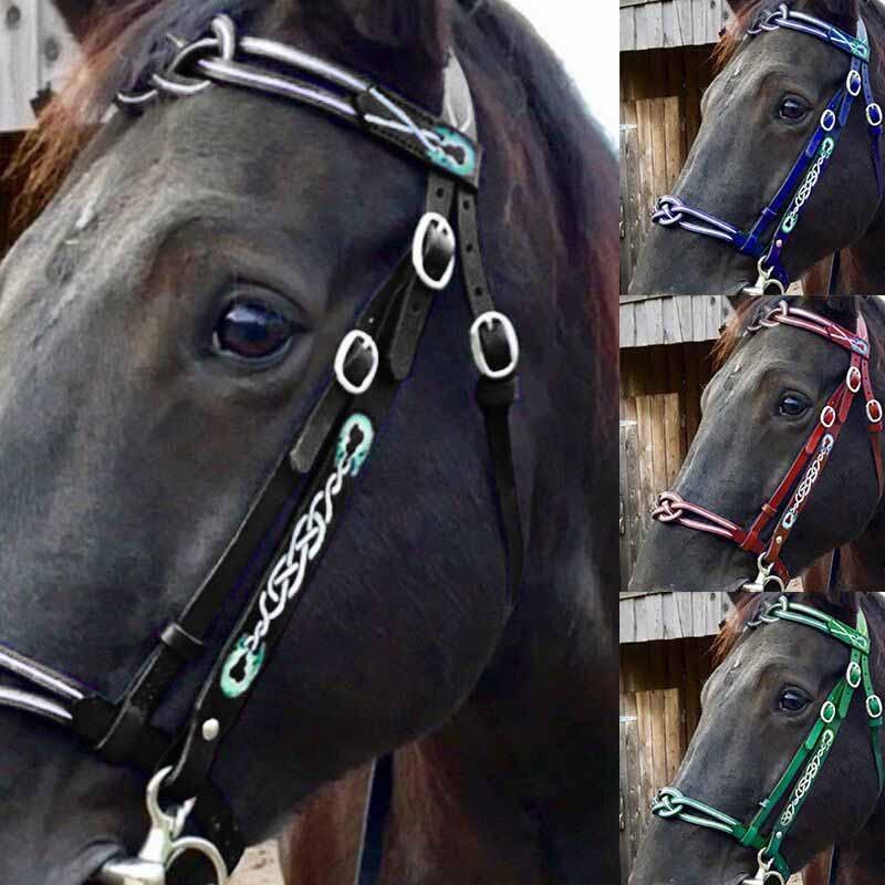 Съемный для лошадиной узды PU защитный головы воротник тренировочный матч лошади с лямкой на шее Управление направление пояс-вожжи аксессуа...