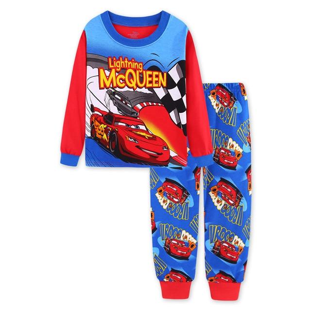 Pijamas para niños Pixar Cars Lightning McQueen 1