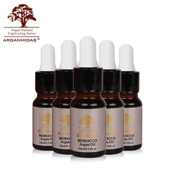 Arganmidas 10ml Argan Oil Preferential Suit Moisturizing Damaged Hair Treatment Products 5pcs Professional Great Moroccan Nut 6pcs armalla moroccan argan oil professional moisturizing dry damaged hair maintenance clear hydrating care hair