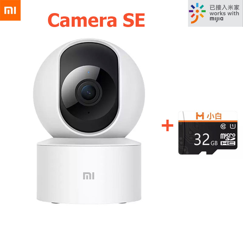Newest Xiaomi Mijia Smart Camera SE 1080P Webcam Camcorder 360 Angle WIFI Wireless Night Vision AI Enhanced Detect IP Cameras