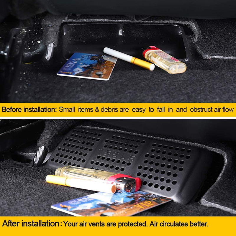 cheapest Car Accessories For Tesla Model 3 2017 2018 2019 Auto Armrest Box Storage Organizer Containers Transparent Hidden Holder Box