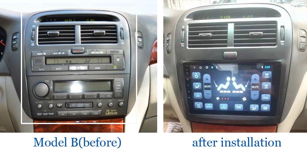 For Lexus LS 430 LS430 XF30 2000~2006-d