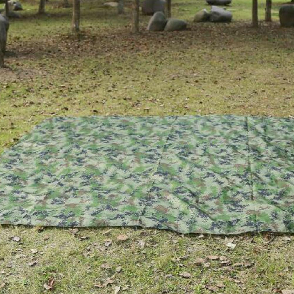 Водонепроницаемость кемпинг палатка брезент укрытие гамак навес солнце тень дождь муха чехол 100X145 см кемпинг палатка брезент навес солнце тень