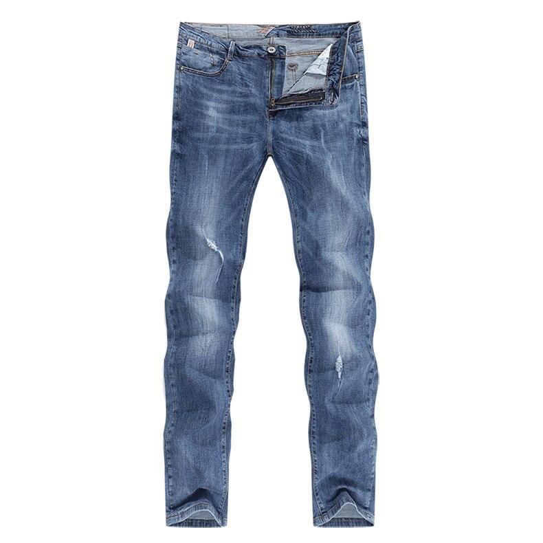KSTUN Fashion Biker Jeans Men New Design Ultrathin destroyed Man Rip Jean Slim Fit Hiphop Stretch Blue Casual Denim Pants High Quality 11