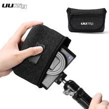 防水カメラ収納キヤノン G7X マーク III ソニー RX100 VII ポータブル Vlog カメラバッグ旅行外部ジッパー