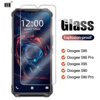 Перейти на Алиэкспресс и купить 2 шт., закаленное стекло Для Doogee S95 S90 X95 Pro, Защитная пленка для экрана Doogee S95 S90 X95 Pro