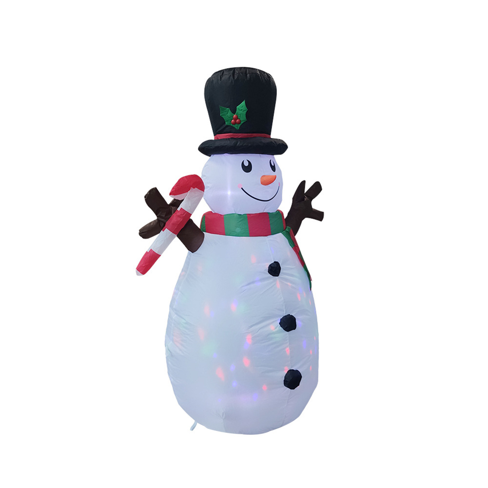 160cm Christmas Decorations Upgraded Snowman Inflatable Props Inflatable Toy Indoor Outdoor Yard Garden Decorations-0