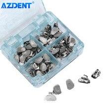 AZDENT – Tube dentaire orthodontique Buccal Non Convertible Roth MBT 0.022 0.018, 1 et 2 ème molaires, liaison de soudure fendue