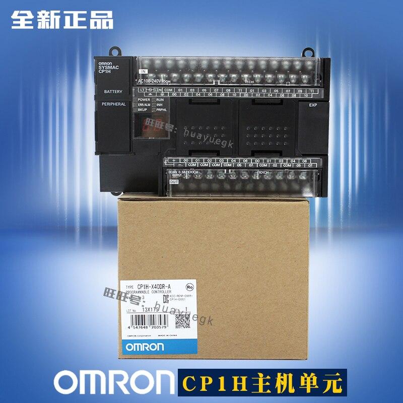 Omron Plc Controlador 100% Novo Original Cp1h-x40dt-d Cp1h-x40dr-a Cp1h-xa40dt-d Cp1h-xa40dr-a Cp1h-ex40dt-d