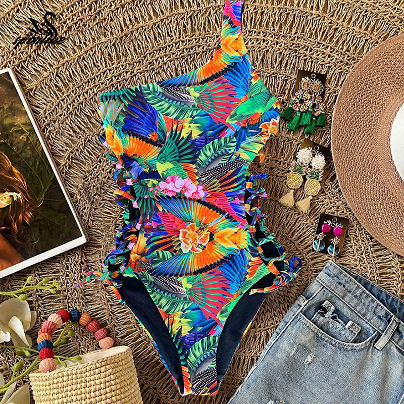 Цельный купальник 2020 сексуальный купальник женский купальник купальники с эффектом пуш ап Пляжная одежда на шнуровке Монокини женский|Комбинезоны|   | АлиЭкспресс