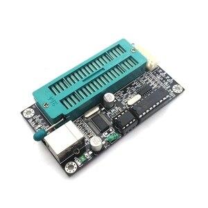 Image 3 - أسود PIC K150 ICSP مبرمج USB البرمجة التلقائية تطوير متحكم صغير + USB ICSP كابل
