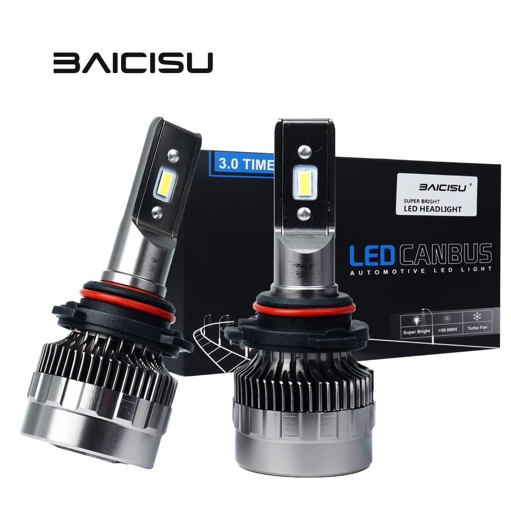 Автомобисветодиодный лампы H7 H11 H8 9005/9006 H1 H3 H9 9006 H4 Hi/Lo для автомобильных фар, чип светодиодный Ной лампы 9012 лм, Автомобильные противотуманные ...