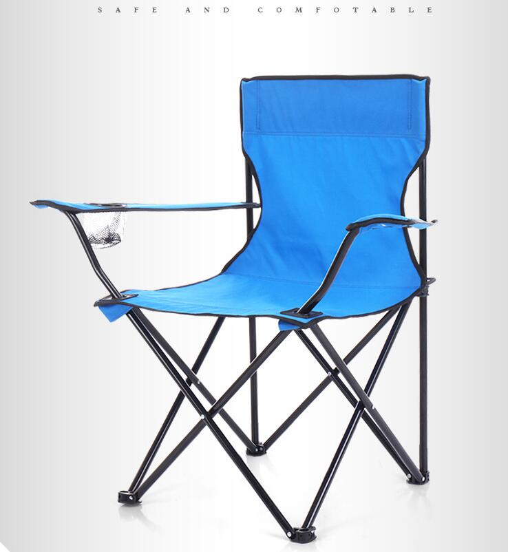 Travel Portable Beach Folding Chair Superhard Strong Load Outdoor Camping Chair Hiking Picnic Seat Fishing Tools Chair Stools