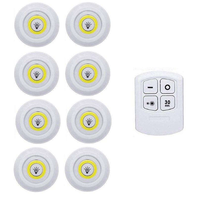 1 Remote 8 Lamp