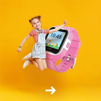 Kids Watch Smart GPS tracker waterproof IP67 Location WiFi LBS GLONASS Remote monitoring Touch 1.3IPS watches M2 gift