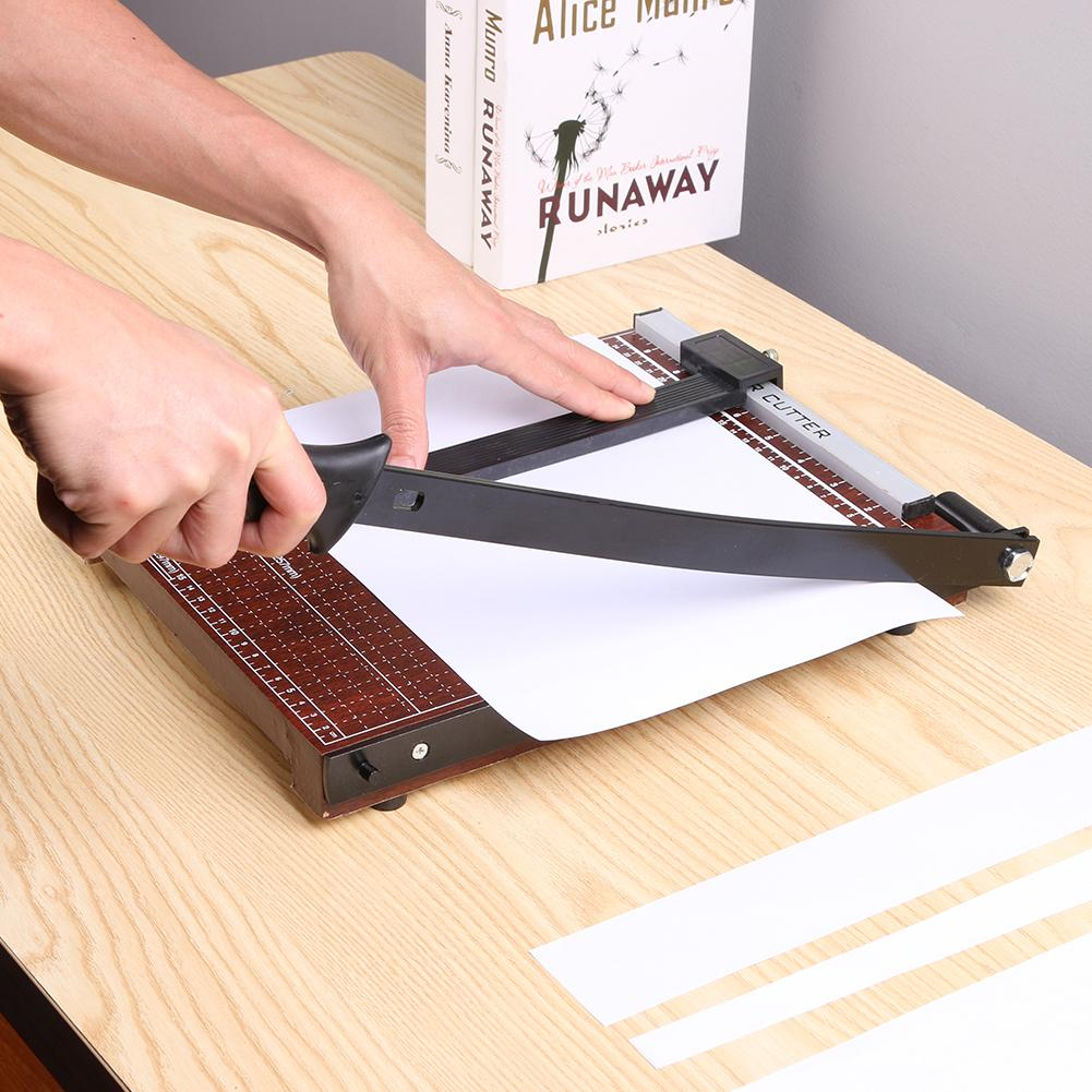 A4/A5/B5 Manual Paper Cutter Office Photo Paper Trimmer Machine Stainless Steel Guillotine Card Cutter A4 Paper Cutting Machine|Die-Cut Machines|   - AliExpress