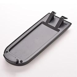 Preto tampa do console de braço carro capa auto centro trava clipe captura para volkswagen golf bora passat t b5 skoda lavida