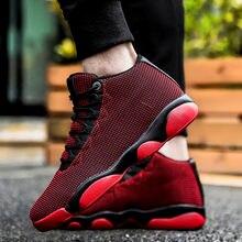 Мужская Баскетбольная обувь высокие амортизирующие кроссовки