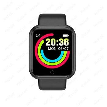 IWO Series W26 SE Smart Watch 6 Men Women Smartwatch Sports Fitness Bracelet For Xiaomi iPhone Band Watches Bluetooth Device Electronics Smart Electronics Smart Watches W26 SE Xiaomi Color: Y68-Black Size: With Original Box