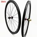 700c Углеродные дорожные дисковые колеса 38x25 мм бескамерная клинчерная покрышка дисковая велосипедная колесная колесо 100x12 142x12 дисковые торм...