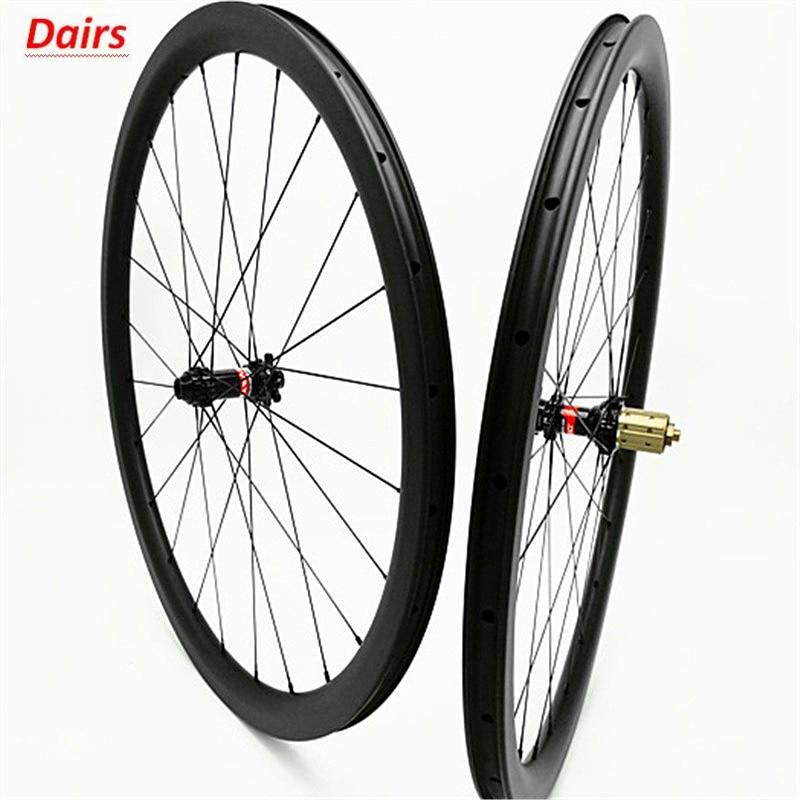 700c carbone route disque roues 38x25mm pneu tubeless disque vélo roues 100x12 142x12 disque frein 1580g carbone roues