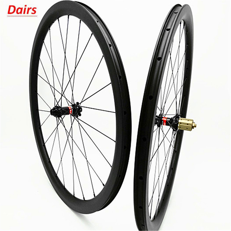 700c carbon road disc wheels 38x25mm clincher tubeless disc bicycle wheelset 100x12 142x12 Disc brake 1580g carbon wheels