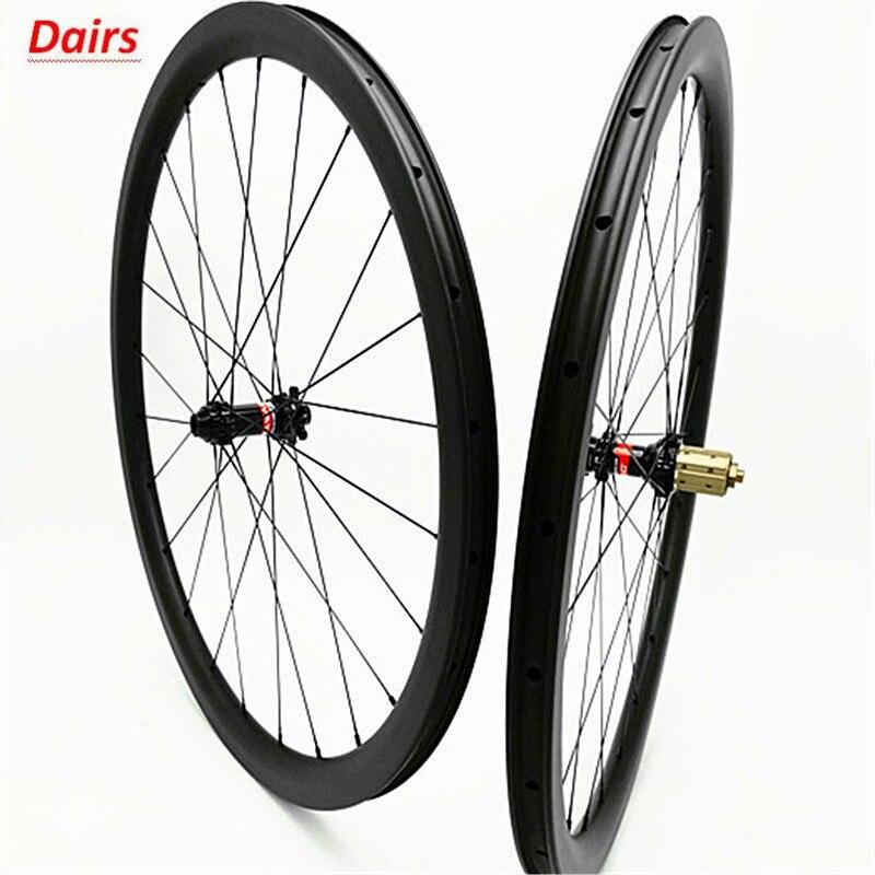 700c rodas de disco estrada carbono 38x25mm clincher tubeless disco bicicleta rodado 100x12 142x12 freio a disco 1580g rodas de carbono
