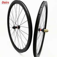 700c ruedas de disco de carretera de carbono 38x25mm clincher rueda de bicicleta de disco sin cámara 100x12 142x12 freno de disco ruedas de carbono 1580g
