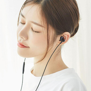 Image 4 - Xiaomi Mi היברידי Pro HD 2 אוזניות ב אוזן אוזניות Wired שליטה כפולה נהג עם מיקרופון עבור Redmi הערה 5 בתוספת Mi 8