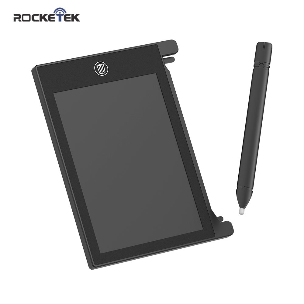 Rocketek LCD Writing Tablet 4.4 Inch Digital Drawing Electronic Handwriting Pad Message Graphics Board Kids Writing Board