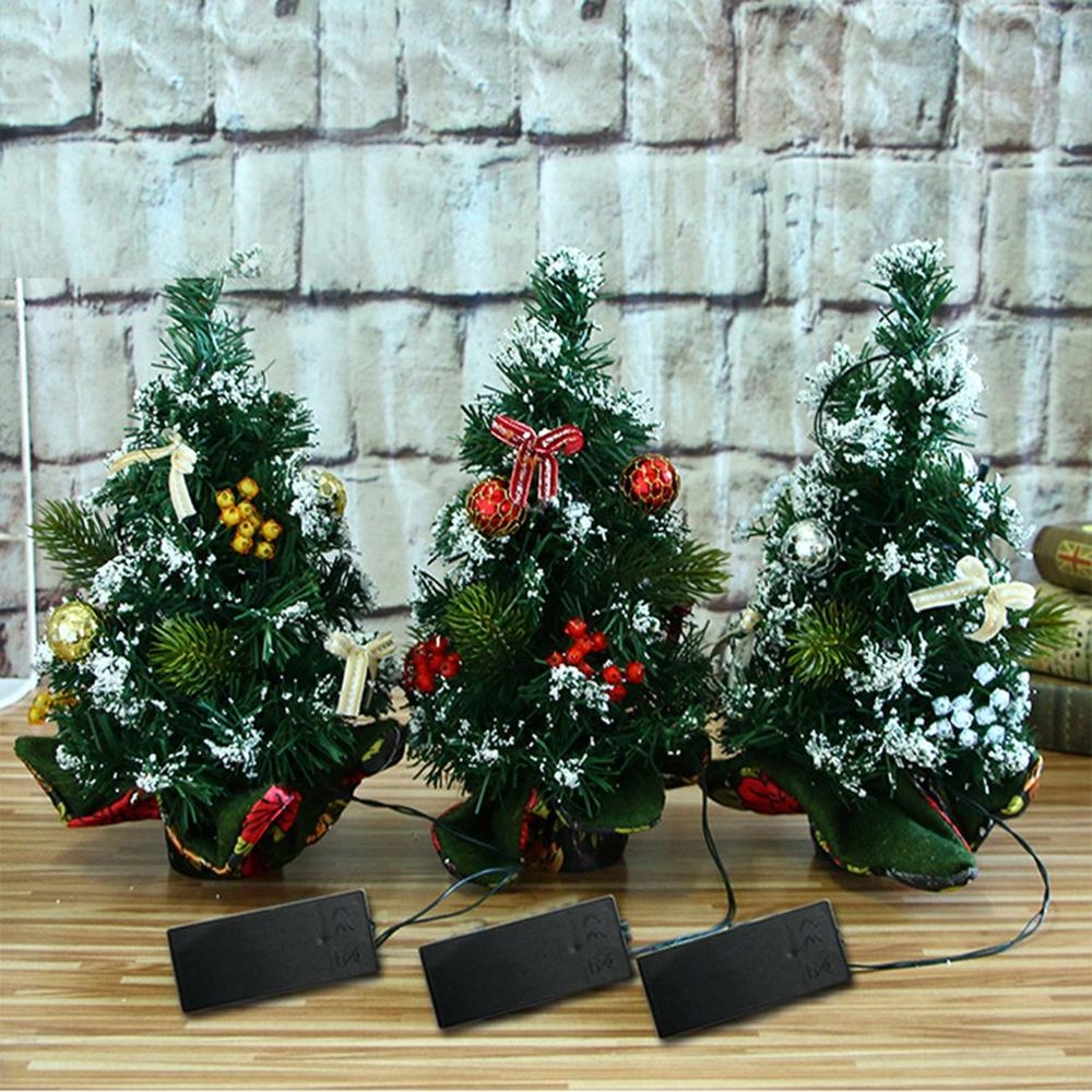 Christmas Decoration 30Cm Christmas Tree Lights Desktop Mini Decoration Christmas Day Venue Decoration