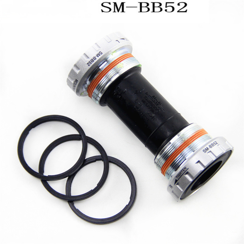 Deore SM BB52 Hollowtech II Mountain Bicycle Bottom Bracket 68/73mm BB52 Bottom Bracket
